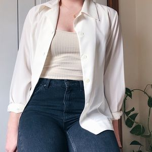 VINTAGE • button down shirt